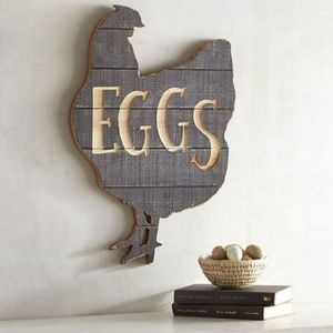 Pier 1 Imports Eggs & Rooster Wall Decor